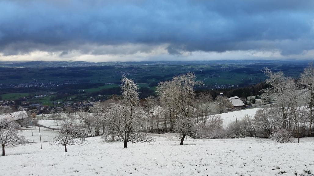 Winter auf dem Pfannenstiel